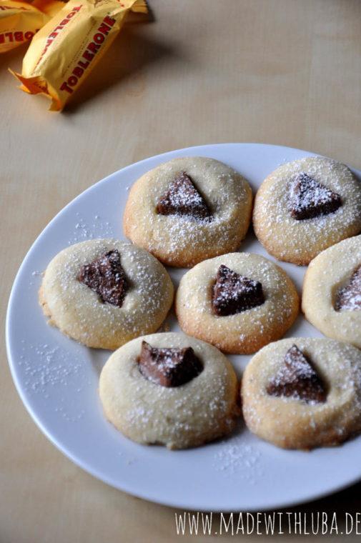 Toblerone Shortbread Kekse – ein kleiner Genuss für zwischendurch