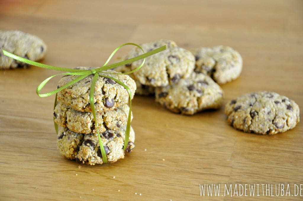 Quinoa Kekse süß verpackt