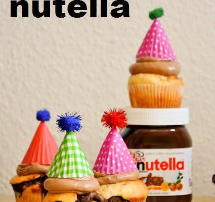 Anzeige – Nutella Muffins mit Nutella Frosting – 50 Jahre Nutella!