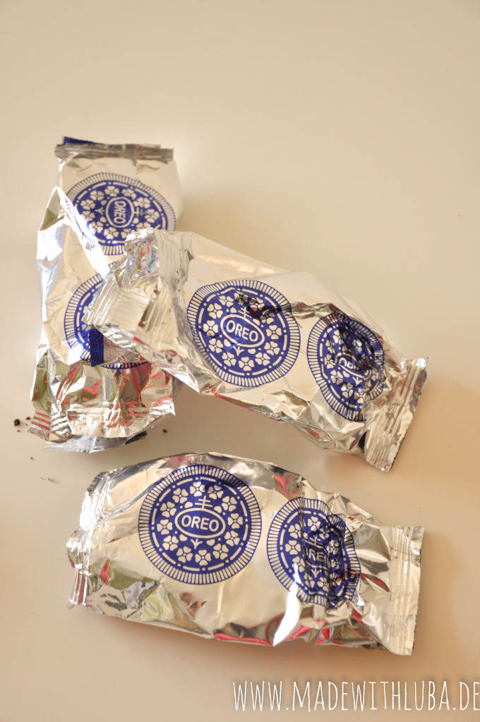 Verpackung Oreo Kekse