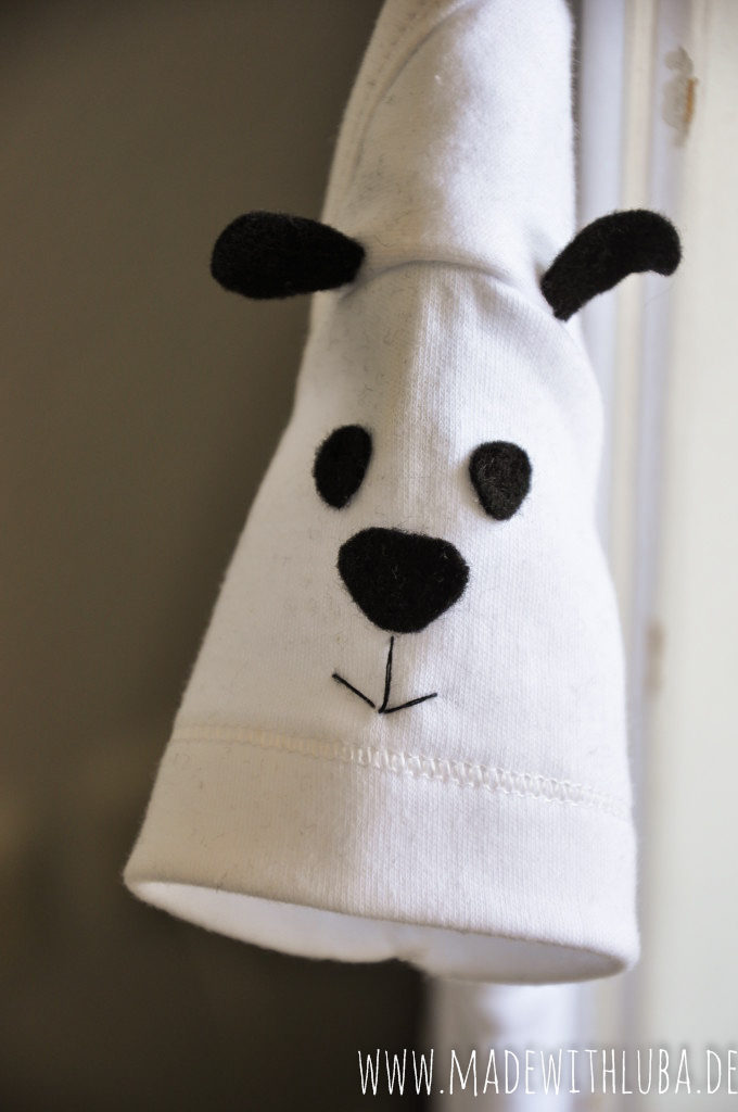 Baby Body Panda Nahaufnahme