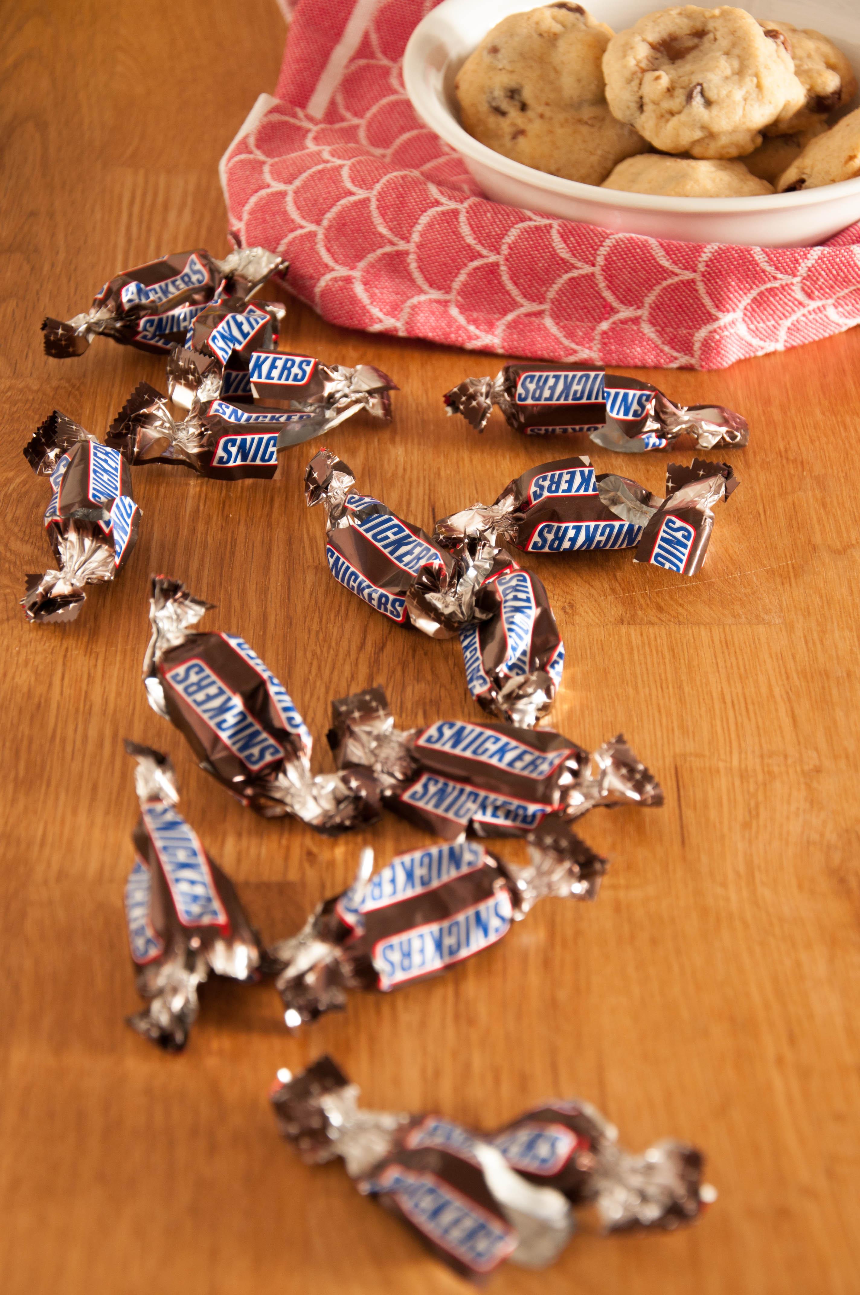 Snickers Kekse mit Schokodrops