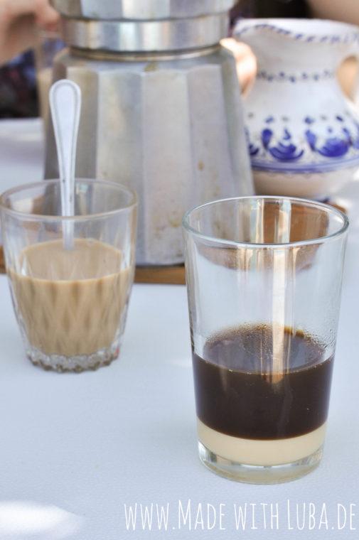 Anzeige – Spanischer Kaffee – einen café con leche, por favor!