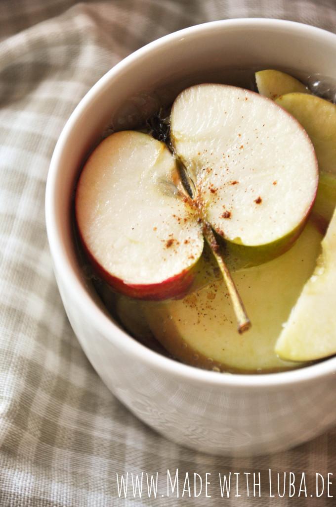 Apfel Zimt Tee