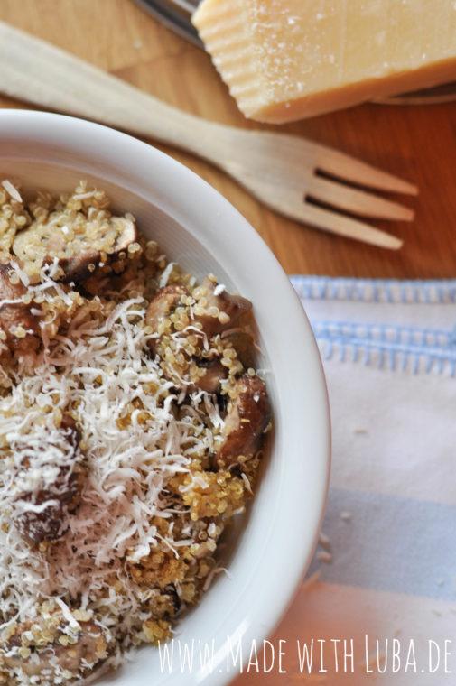 Quinoa-Pilz-Pfanne
