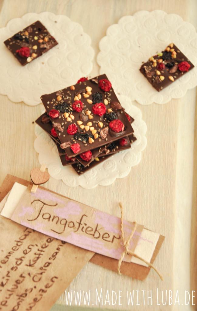 Valentinas Schokolade