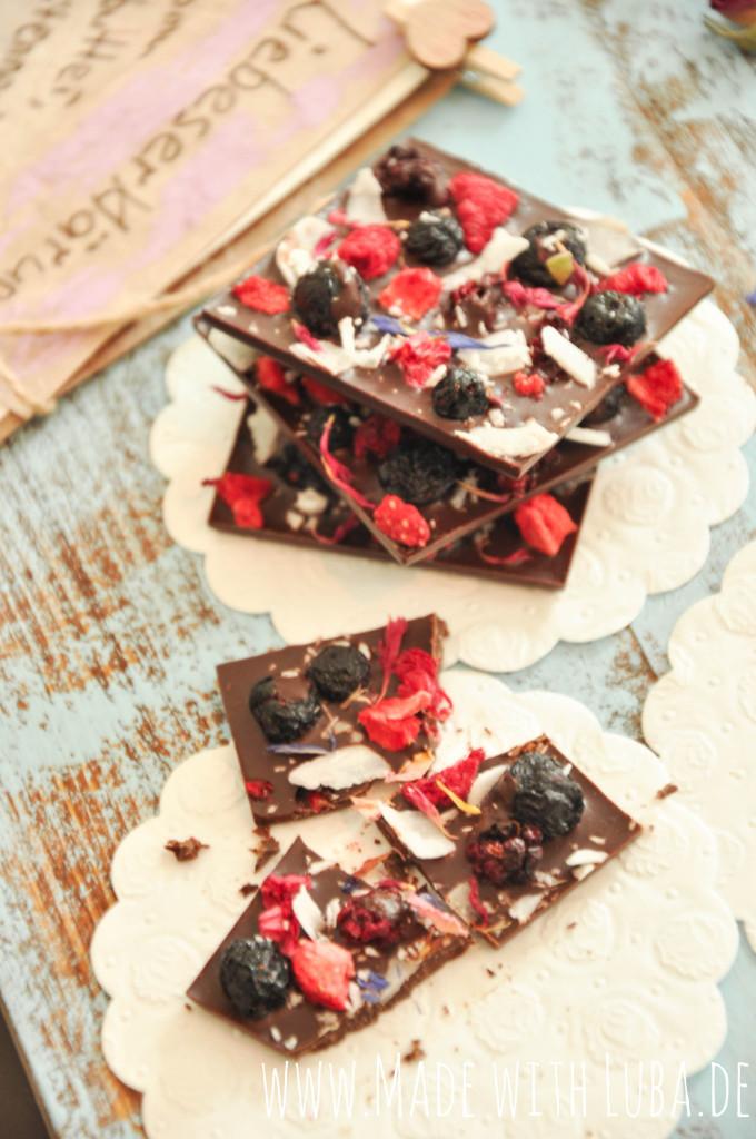 Valentinas Schokolade Liebeserklärung