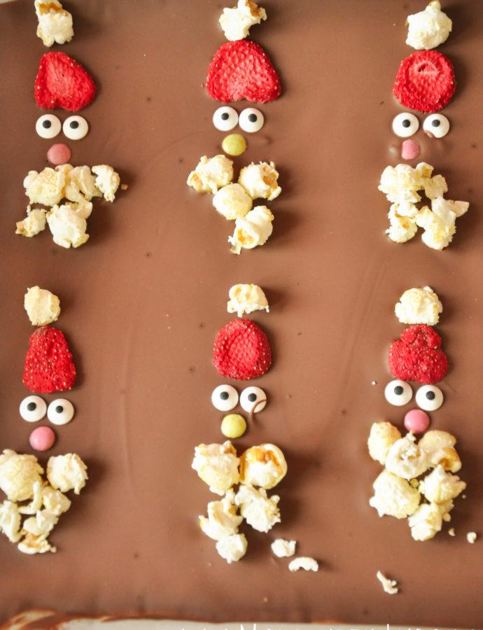 Schokoladentafeln – Herzlich willkommen lieber Weihnachtsmann