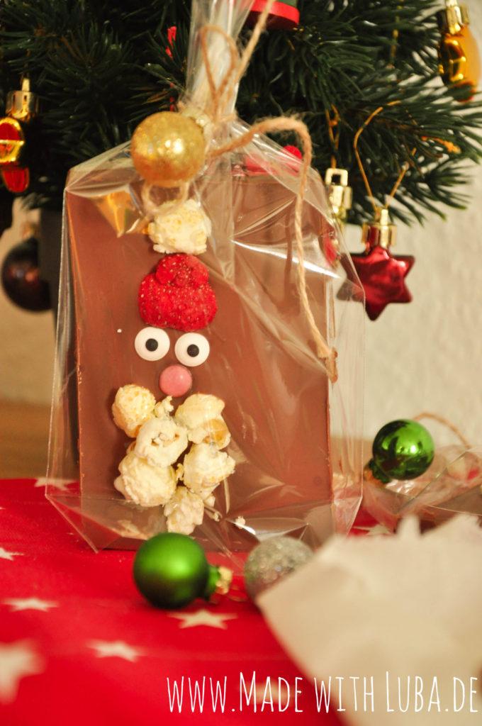 Bruchschokolade Weihnachtsmann