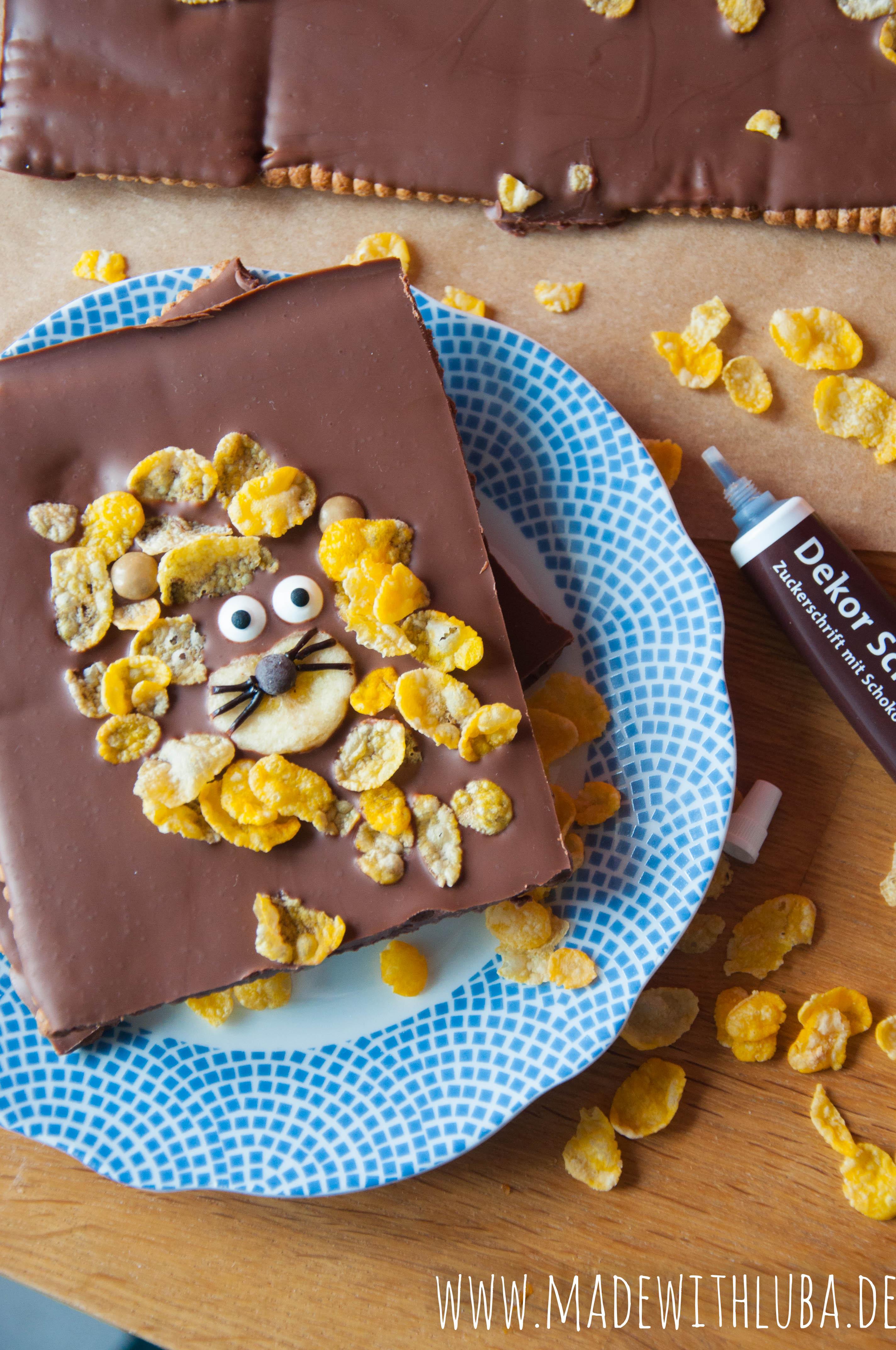 Selbstgemachte Schokoladentafeln ideal zum Verschenken