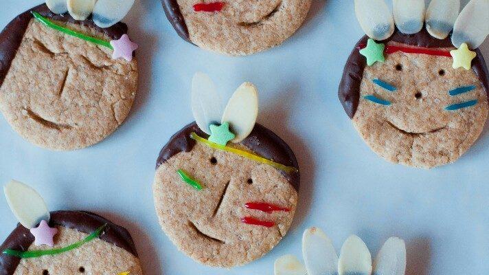 Indianer-Kekse für kleine Entdecker