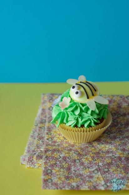 Ein Bienchen Cupcake