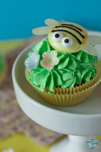 Bienchen Cupcakes Nahaufnahme