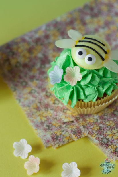 Bienchen Cupcake Nahaufnahme