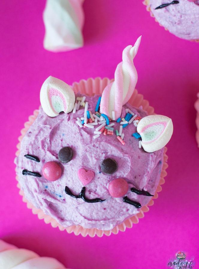 Caticorn Cupcakes – Und der Einhorn-Trend ist vorbei!