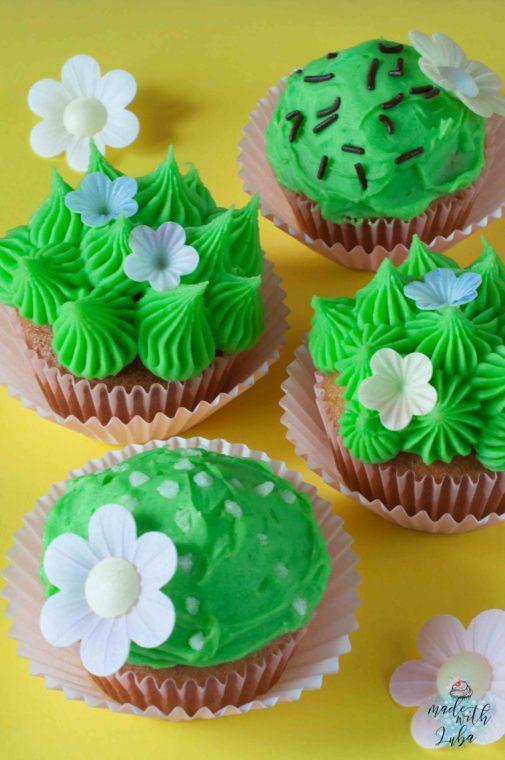 Trendige Sukkulenten Cupcakes – Und deine Kaktusparty ist gerettet!