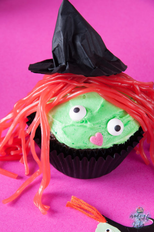 Melted Witch – Lustige Hexen Cupcakes zu Halloween
